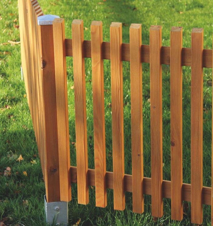 Hochwertiger Holzzaun von Aigner Holz
