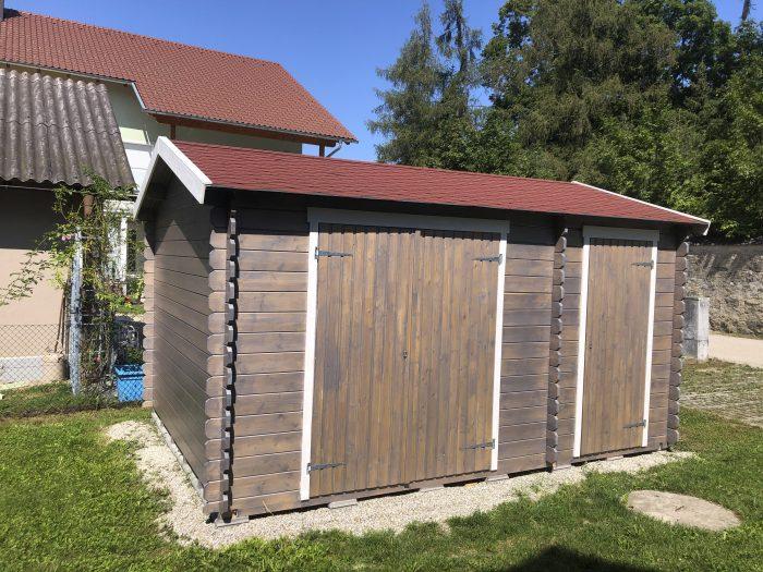 Gartenhaus aus Holz von Aigner Holz